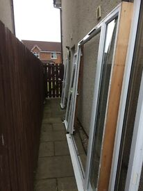 1800 wide French doors for sale and 2 side windows