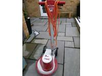 Floor polisher buffer