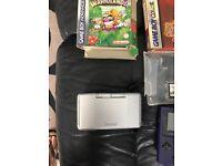 Retro Nintendo handheld consoles and games bundle