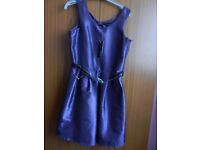 Girl's Sleeveless Dress - Purple