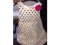 GIRLS AGE 5 DESIGNER DRESS