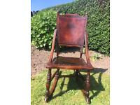 Victorian rocking chair vintage old