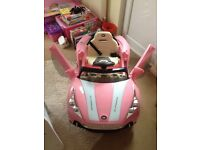 Child's pink Maserati sit in battery car. Excellent condition. Pink. Suit approx 3-6 years. £75