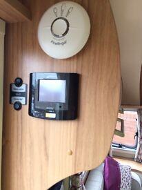 Bailey Verona fixed bed touring caravan