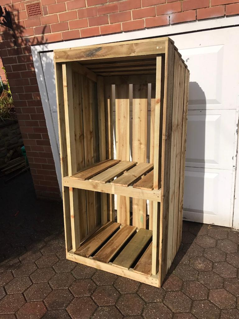 Wood Store -Log Store - Tall