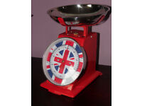 union jack kitchen scales UNUSED