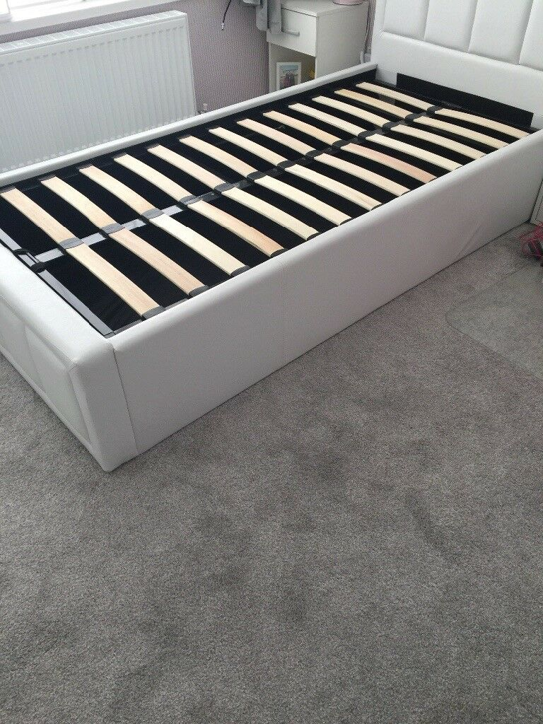 Single ottoman bed frame