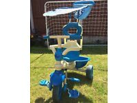 Smart Trike - Safari Touch Steering 4 in 1 Blue