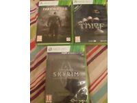 Skyrim legendary edition, Thief and dark souls 2