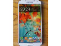samsung galaxy s4 gt-i9505 (unlocked) like new