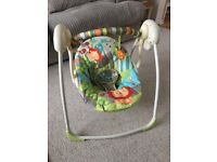 Bright Starts Up, Up and Away portable swing