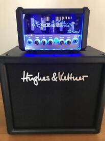 Hughes and Kettner Tubemeister 5 amp and cab combo