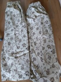 A pair of curtains-OPEN TO REASONABLE OFFER-