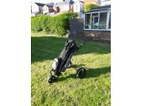 Golf bag TROLLEY SOLD