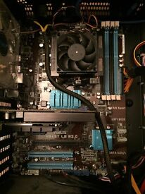 Gaming PC , AMD asus artic inwin water cooled ready