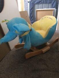 Baby rocker seat (unisex )