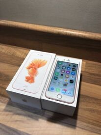 iPhone 6S Rose Gold 32gb Unlocked *mint condition*