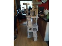 Free large cat scratch post