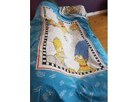 Single Duvet Cover+Pillow case,The Simpsons