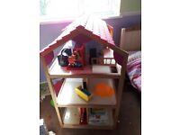 Giant dolls house/shelving