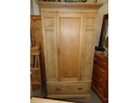 1920's Antique pine wardrobe