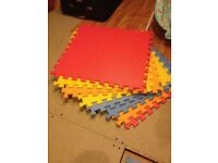 Large soft play mats
