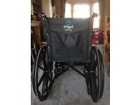 Lightweight wheelchair.
