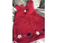 Next red Christmas dress age 4