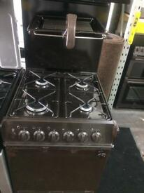 Brown Parkinson Cowan 50cm eye level gas cooker grill & oven good condition with guarantee