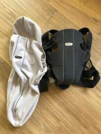 Baby born carrier and cosy cover