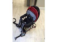 Chicco older baby/toddler back pack carrier