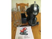 Dolce gusto machine, pod drainer and pod holder fully working order