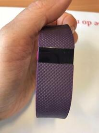Fitbit charge HR purple medium/large strap