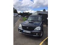 HYUNDAI TERRACAN 2.9 AUTO. Great spec with 1 years MOT. Excellent example.