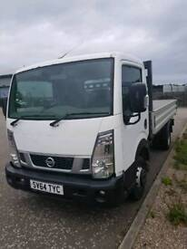 2014 Nissan NT400 Cabstar 35.14 dropside pick up truck