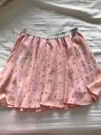 Age 7-8 pastel star skirt
