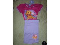 Disney Winnie The Pooh Lazzy Dayz girls 7/8 years pyjama