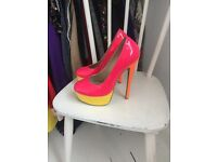 Kandee multi colored high shoes