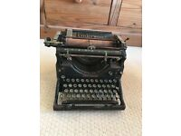 Vintage underwood typewriter no 5
