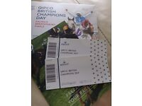 ***SOLD*** Ascot Champions Day Tickets 15th October 2016