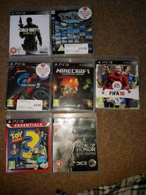 PlayStation 3 PS3 with games
