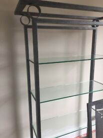 Glass Wall Unit, Glass Coffee Table, Glass Corner Unit