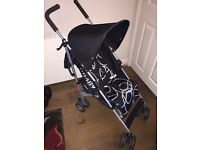 OBaby Pushchair Pram Stroller Buggy Child Kids Baby