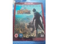 Black Panther 3d and blu ray