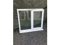 Used white Upvc Window glazed Work shop, shed, garden building W7