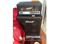 Valve Amp and Marshall cabb
