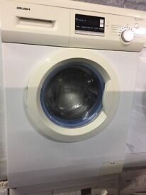nice white Bush washing machine it's 6kg 1200 spin in excellent condition in full working order