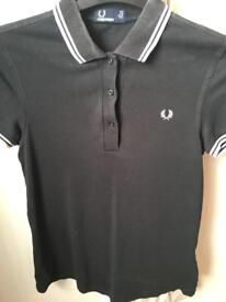 Fred Perry polo t shirt