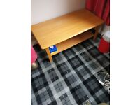 Display cabinet and coffee table for sale