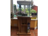 Fish tank and stand for sale with filter and various extras